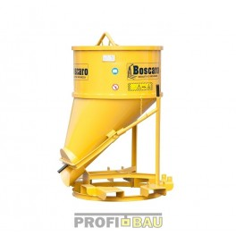 Koš na beton -  typ BF-ST - boční výpusť